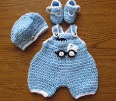 boy, outfit, and crochet image
