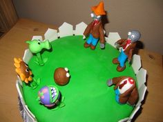 plants vs zombies cakes