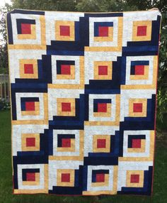 Quilts from the Little House: The Grunge Quilt