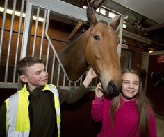 Two young horse riders who had abuse hurled at them by a driving instructor as they rode through Wigan were recently  given a special treat by GMP's Mounted Unit. Fourteen year old Megan Lockett and 12 year old Callum Mullock, both from Wigan, were riding their horses along Beech Hill in Wigan on Friday 31st March, when a driving instructor stopped his car and verbally abused them for riding their horses on the road. www.gmp.police.uk