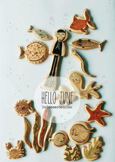 Under the Sea Cookies // Dulce Merceditas