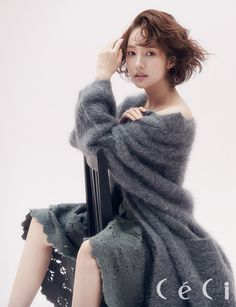 More of Park Min Young for CéCi's January 2015 Edition | Couch Kimchi