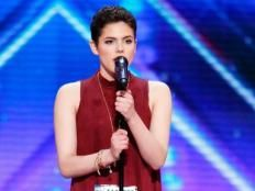 NBC America's Got Talent Clip - This 16-year-old cancer survivor delivers an emotional, powerful performance that's sure to inspire
