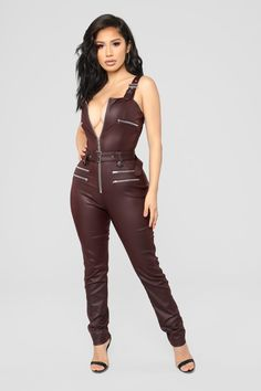 d1ef3d28e4 Hunt You Down Overall Jumpsuit - Burgundy. Sexy OutfitsSexy DressesCute  OutfitsFashion OutfitsWomens ...