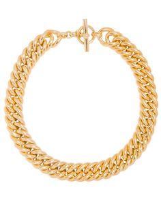 Giant Gold Curb Chain Necklace Gold Jewelry, Women Jewelry, Jewellery, Wardrobe Staples, Bronze, Birmingham, Chain, Metal, Celebrity