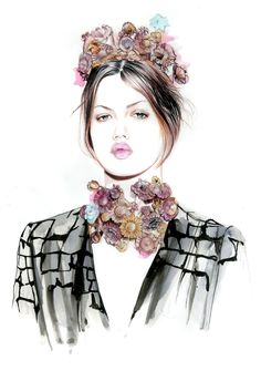 Do you like my tight sweater ?: Lindsey Wixson for Giambattista Valli couture spring 2013