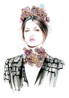 Fashion - Caroline Andrieu, Lindsey Wixson