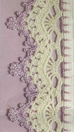 Watch This Video Beauteous Finished Make Crochet Look Like Knitting (the Waistcoat Stitch) Ideas. Amazing Make Crochet Look Like Knitting (the Waistcoat Stitch) Ideas. Crochet Boarders, Crochet Edging Patterns, Crochet Lace Edging, Crochet Motifs, Crochet Doilies, Crochet Hooks, Tunisian Crochet, Filet Crochet, Lace Knitting