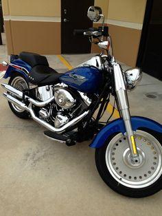 Harley-Davidson : Softail 2007 Harley-Davidson Fat Boy (Pacific Blue)
