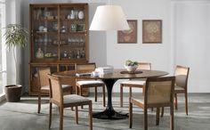 Saarinen + wood = amazing