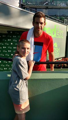"""Juan M. del Potro on Twitter: """"Disfrutando los mates después de jugar mi primer @rolandgarros en 5 años. / Some mates after playing my first Roland Garros in 5 years. 😃💪🎾🗼 https://t.co/hgftdBXZYM"""""""