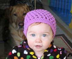 Little Rays of Sunshine: Toddler Spring Hat {Free Pattern}