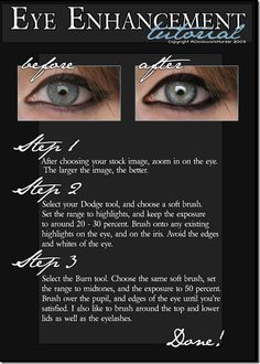 quick photoshop eye enhancement