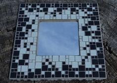 Contemporary Mosaic Mirror Kit - Black & White