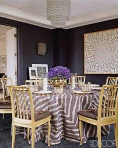 Dining Room Decor - ELLEDecor.com