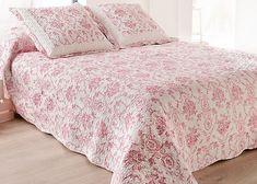 couvre lit boutis 2 places chantilly bois de rose cuisine maison idee d co. Black Bedroom Furniture Sets. Home Design Ideas