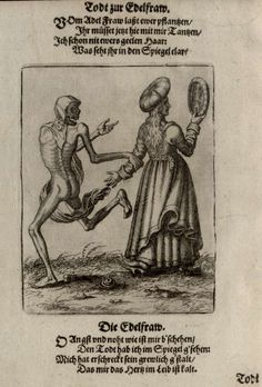 La danse macabre du Grand-Bâle - Le noble - Merian 1621