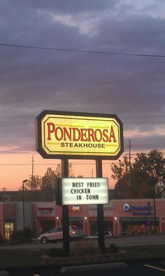 Ponderosa Steak House Great Falls Mt Florida 2017 Vacation Travel