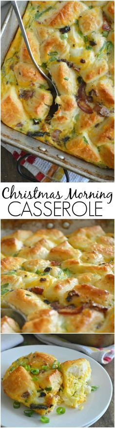 A super simple casserole made with refrigerated biscuits, eggs, cheese, and bacon. Christmas Morning Casserole is perfect for long lazy mornings with family and friends. It is not a holiday in our house without a breakfast casserole. It's like an unwritten rule that a savory hot breakfast that can be dipped out with a spoonRead More »