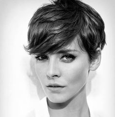 pixie cuts for heart faces - Google Search