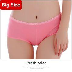 Women Menstrual Period Panties Plus Size M-3XL Briefs Large Size Women Underwear Breathable Big Size Lingerie Culotte Femme