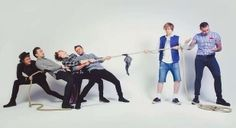 McFly and Busted in McBusted press shot Music Love, My Music, Mcfly Band, Matt Willis, Dougie Poynter, Tom Fletcher, I Hate Everything, Busted Band, Daft Punk