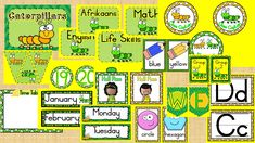 Product consists of: Door poster Subject posters Caterpillar flags Numbers 1 – 20 Class captain and Messenger badge Hall pass Alphabet Time Table poster Months of the year Days of the week Group numbers Colors Shapes Welcome banner Classroom Activities, Classroom Decor, Hall Pass, Welcome Banner, Color Shapes, Poster On, Months In A Year, Caterpillar, Blue Yellow