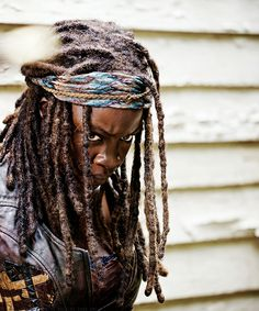 Don't phuque with Michonne.