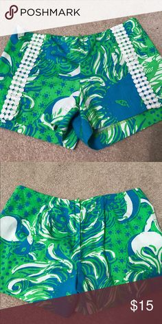 Lily Pulitzer Shorts Never been worn! Lilly Pulitzer Shorts