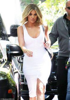Not into it: Khloe Kardashian has revealed on her website that her birthdays make her sad....