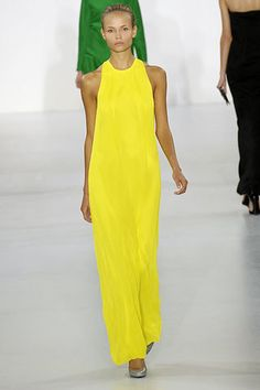 Jil Sander Spring 2007 Ready-to-Wear Fashion Show - Diana Moldovan