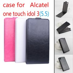 Alcatel one touch idol 3 5.5 inch case Open Up And Down Cover Case For Alcatel One Touch Idol 3 OT-6045 6045Y 6045K 5.5 inch