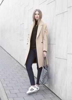 Msgm Camel Coat <3
