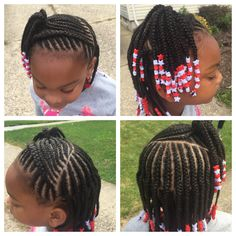 styling of the front for my LO Cute Hairstyles For Kids, Natural Hairstyles For Kids, Kids Braided Hairstyles, Little Girl Hairstyles, Natural Hair Styles, Short Hair Styles, Little Girl Braids, Black Girl Braids, Braids For Kids