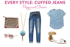Every Style: Cuffed Jeans: Preppy & Classic   Taim Boutique