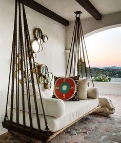 20 camas colgantes de interior y de exterior #decoracionjardinesexterior