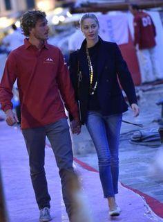 Rolex Trophy , Pierre Casiraghi e Beatrice Borromeo a Portofino | Foto Gossip | Fotogallery | Multimedia | Il Secolo XIX