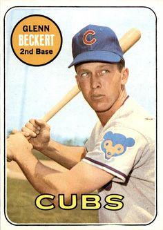 Glenn Beckert 1969 Topps #171