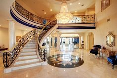 mansion luxury master bathroom with fireplaces - Google Search
