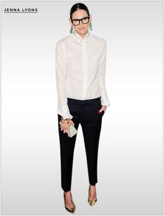 Trend To Try: Bows - The remarkable Jenna Lyons