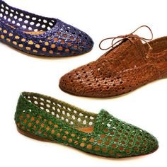 Woven Flats For Eco-Fly Ladies