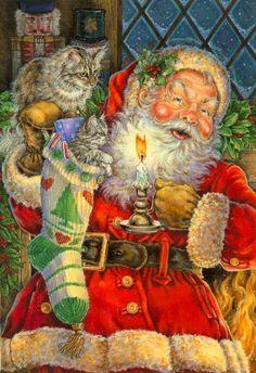 Santa Christmas By Donna Race