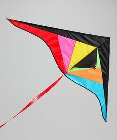 Fluorescent Wind Rider 2 Delta Kite #zulily #zulilyfinds
