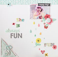 PHOTO + PAPER + STAMP = CRAFTTIME!!! - Eunyoung Lee