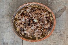 Buttered Onions with apples.  Colonial Williamsburg Recipe