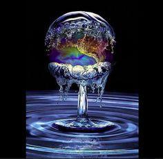 Water drop...
