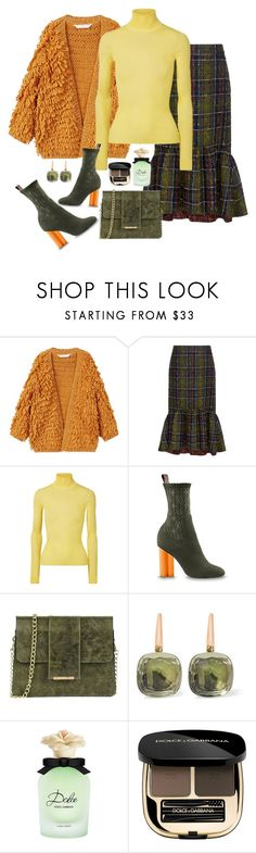 """""""Untitled #644"""" by aida0488 ❤ liked on Polyvore featuring MANGO, Stella Jean, Calvin Klein 205W39NYC, Tuscany Leather, Pomellato and Dolce&Gabbana"""