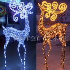 Лось рождественский оленей отеля аркады большие декоративные рождественский олень поставки большой купить на AliExpress