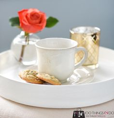 DIY Round tray from a concrete form | 100 Things 2 Do