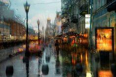 A chuva e a cidade, by Eduard Gordeev